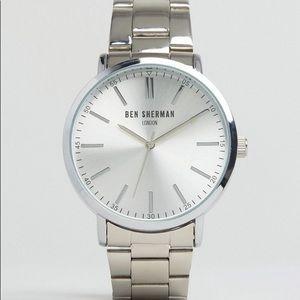 Ben Sherman - Silver Men's Watch BRAND NEW IN BOX